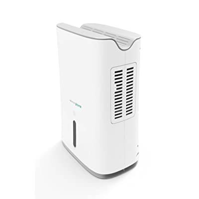.com - InvisiPure Hydrowave Dehumidifier - Small Compact Portable Dehumidifier for Home, RV, Bathroom, Closet, Bedroom, Small Room, Basement, Boat, Mold - Continuous Drain Hose Ready - Quiet Electric Peltier -