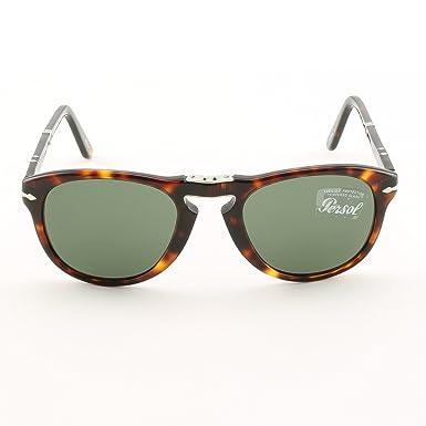 06fea4f907 Amazon.com  Persol PO0714 24 31 Havana Sunglasses with Grey Lenses ...