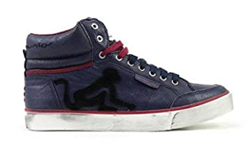 DrunknMunky Boston Vintage 194 Deep Blue 42: Amazon.it