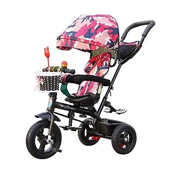 Bicicleta de bebé multifunción Triciclo para niños para 1-3-6 años 4-