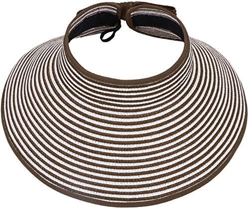 Simplicity Collapsible Large Striped Straw