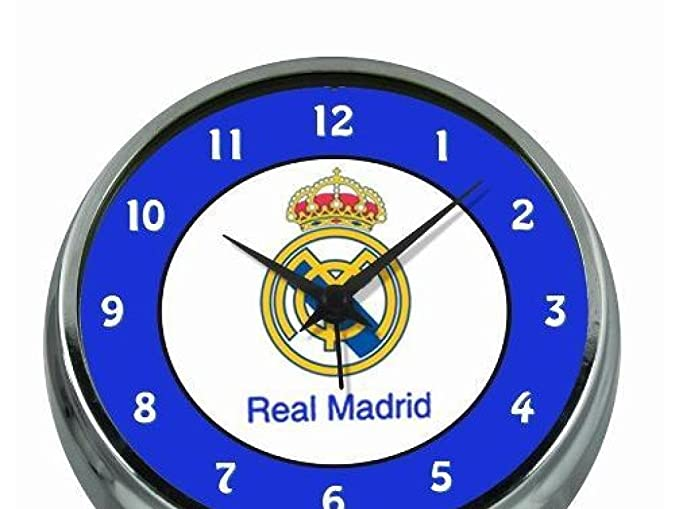 Amazon.com : Full 90 Reloj despertador Real Madrid metálico : Office Products