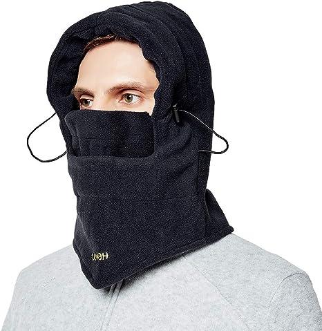 Winter Fleece Balaclava Ski Running Cycling Bike Neck Face Mask Cover Hood Hat
