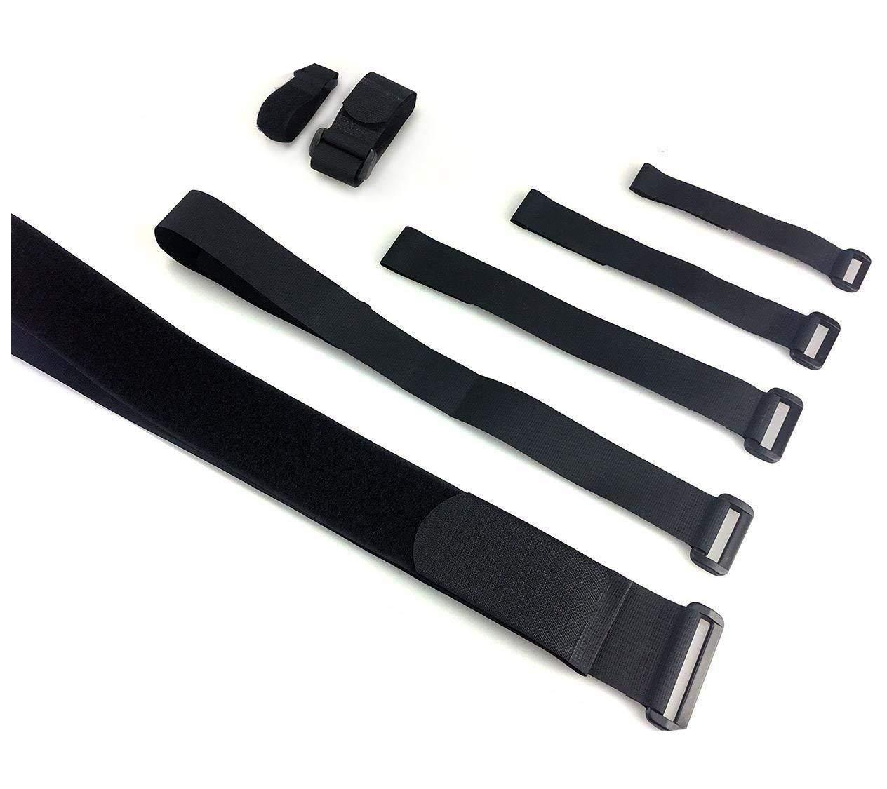 Alfatex® von Velcro® Marke Umreifung Kabelbinder mit Schnalle Band Gepäck Strap, 2Stück