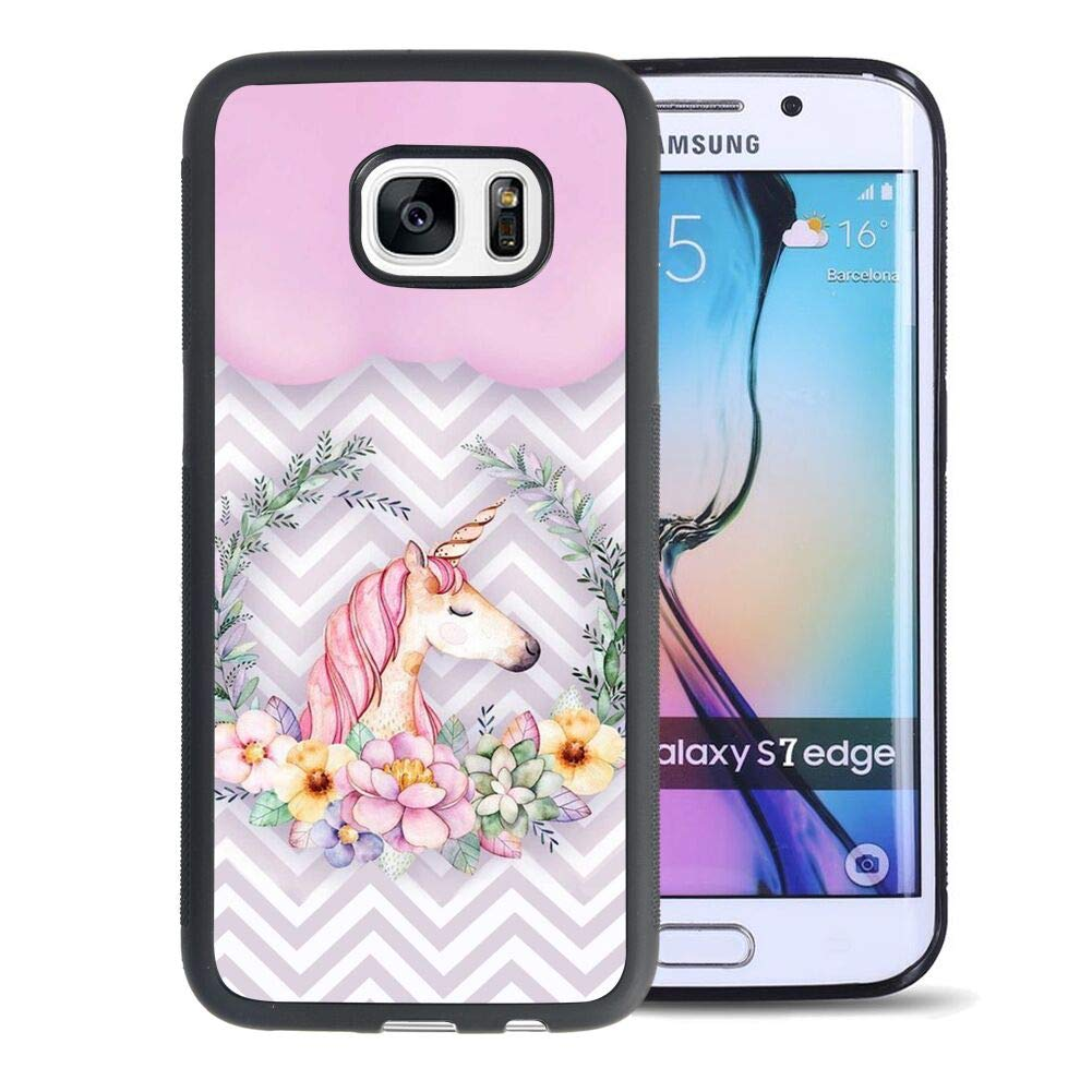 Amazon.com: Protective Case Cover Fit for Galaxy S7 Edge 5.5 ...