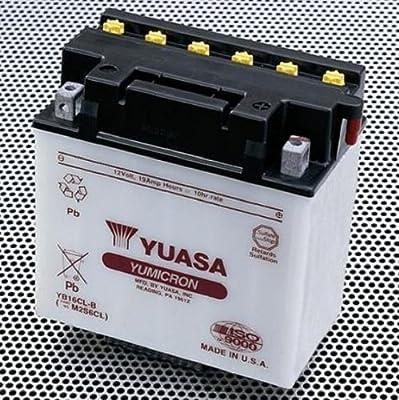 Yamaha OEM Yuasa WaveRunner Battery. BTY-YB16C-LB-00