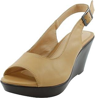c1d967ae237e Cambridge Select Women s Peep Toe Slingback Platform Wedge Sandal
