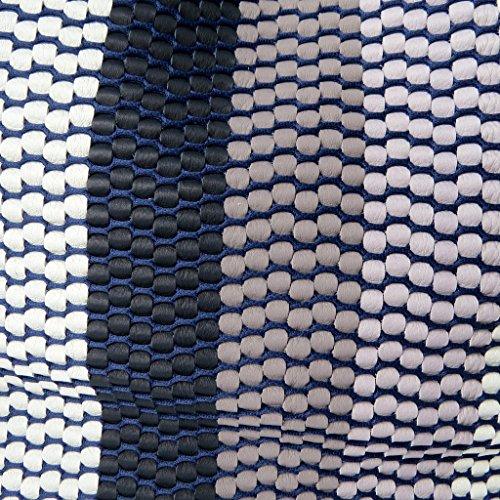 Cm Contiin Pelle Nero Bianco - Blu 30x29x18 Gianni In E Borsa