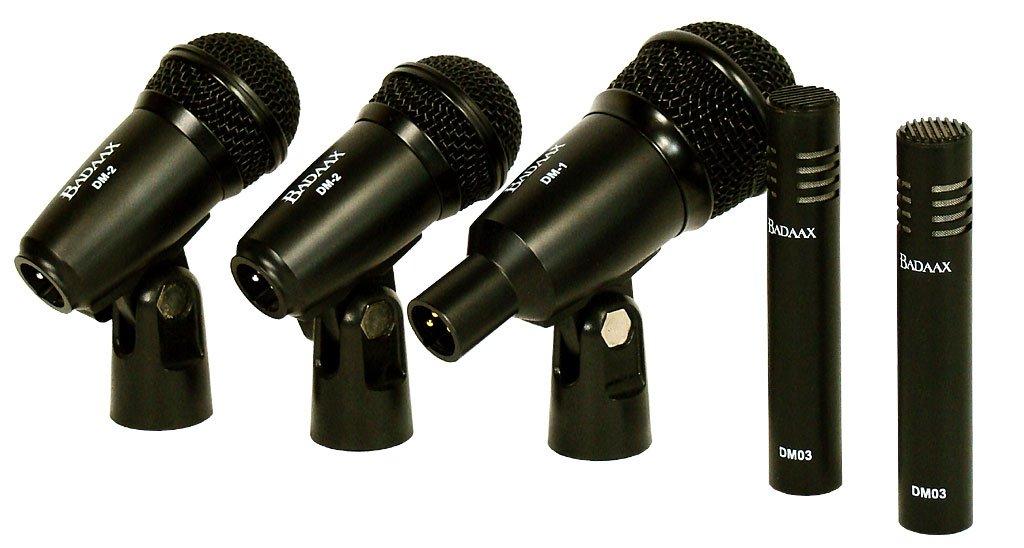 Bad Aax T5400 Drum Microphone Kit Bad Axx