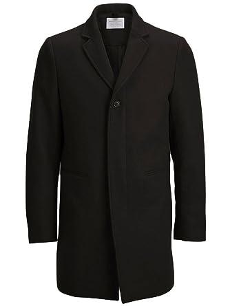 fc35d41cd168 Vêtements Homme En Accessoires Manteau Drap Noir De Laine Et Yxzwq6