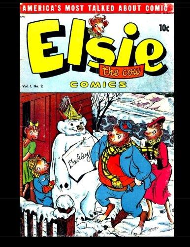 Elsie the Cow Comics #2: 1950 Humor Comic