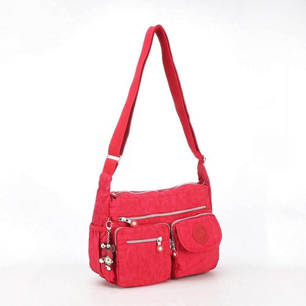 Bag Messenger Ultraleichte Damen Tasche im Trend Der Frau Messenger Bag , rot