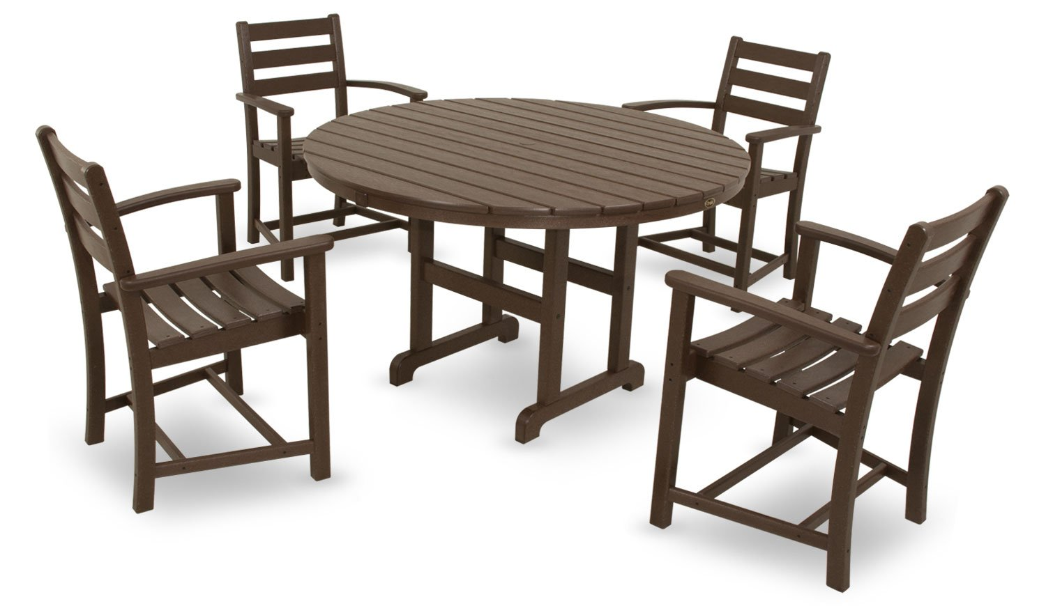 Amazon.com: Trex Outdoor Furniture by Polywood 5-Piece Monterey ...