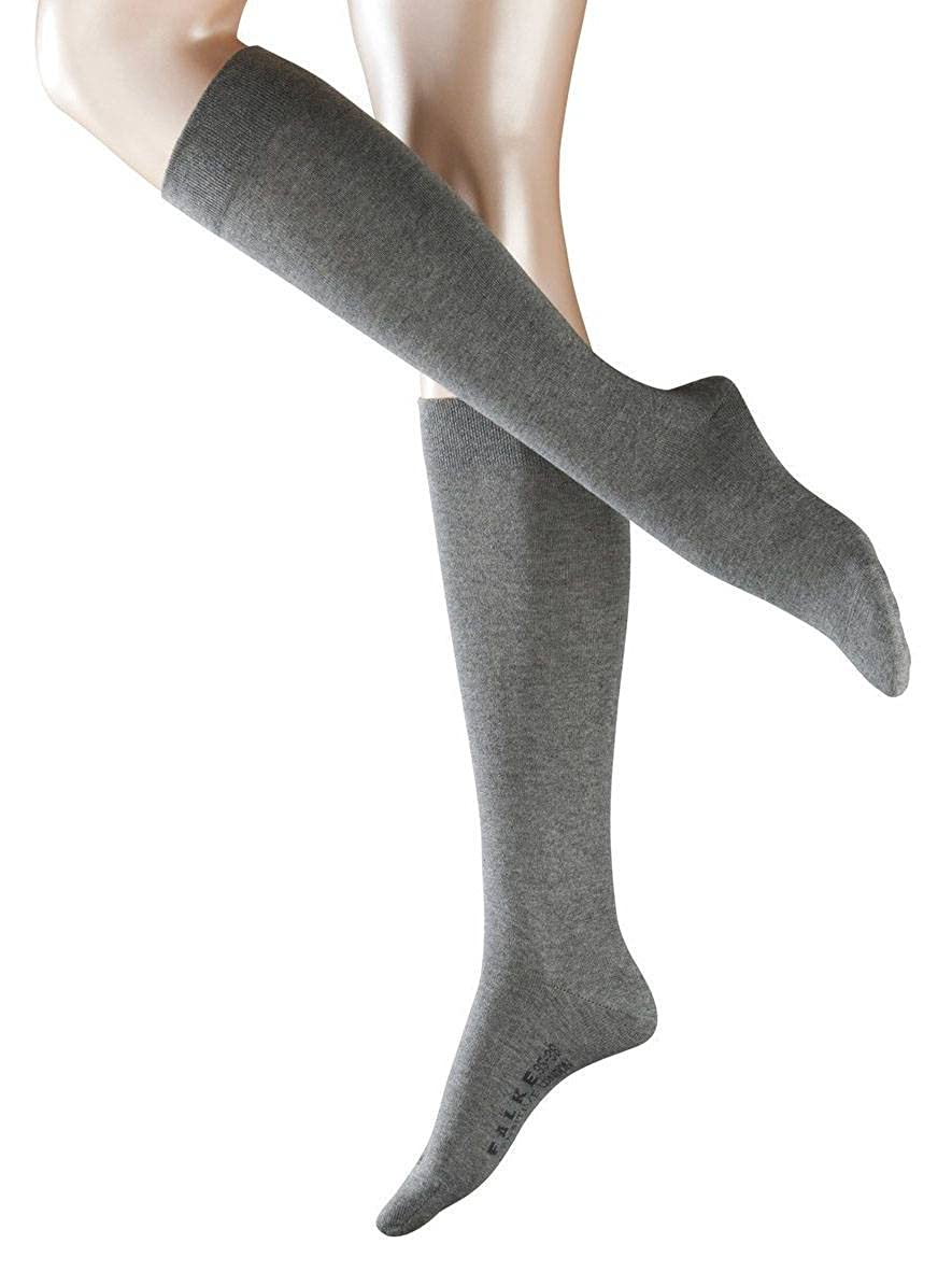 1571f6f606d Falke Womens Sensitive London Knee High Socks - Grey Mix at Amazon Women s  Clothing store