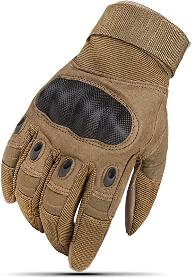 Surenhap Guantes de Motos Zombie Bones Design Man Mujer Full-Finger Transpirable con Pantalla táctil para teléfono GPS para Hombres Damas Motocicletas ...