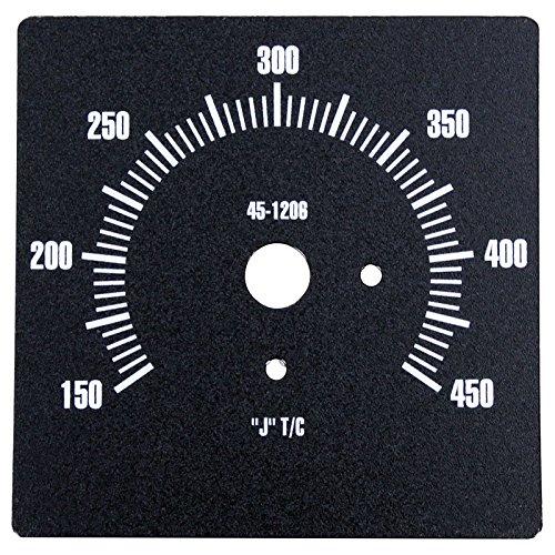 Vulcan Griddle Gas (Vulcan-Hart 00-498450 Zytron Temperature Controller Dial for Compatible Vulcan-Hart Heavy-Duty Gas Griddles)