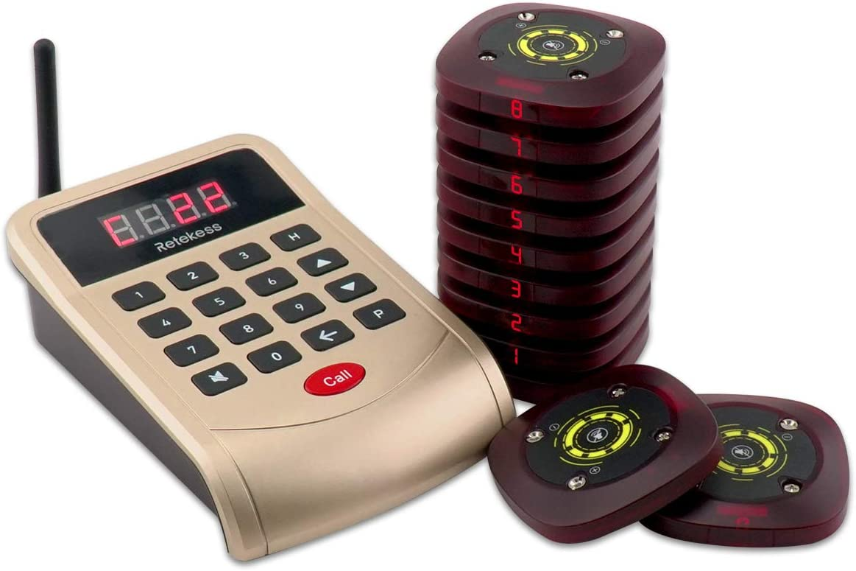 Retekess T118 Pager System Anrufsystem Kundenrufsystem Elektronik