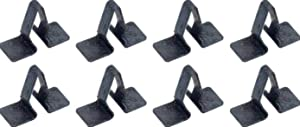 OER 8 Piece Dash Molding Clip Set 1955-1959 Chevy and GM Pickup Trucks