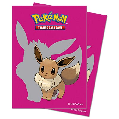 Pokémon E-85988 Ultra Pro-Pokemon-Standard Deck Protectors-Eevee 2020 (65 Pk): Toys & Games