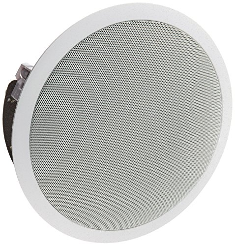 Theater Solutions TSS6A 6.5-Inch Angled Ceiling Speaker (White) by Theater Solutions
