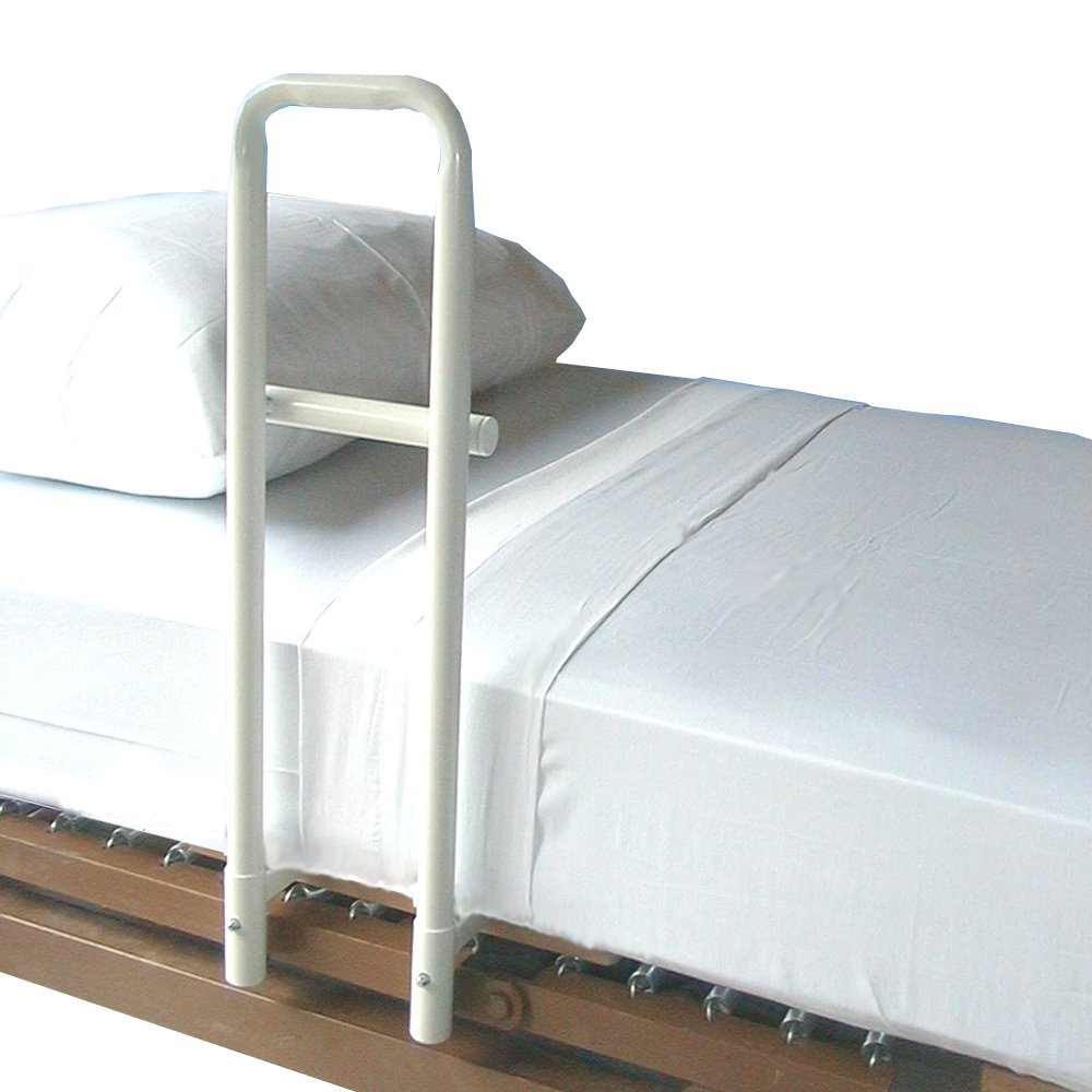 MTS Medical Supply The Transfer Handle Spring Based Hospital Bed, Single