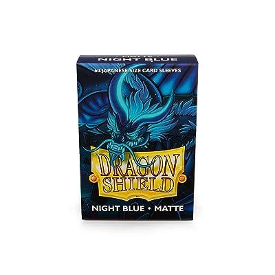 Dragon Shield Sleeves Matte Japanese Night Blue (60): Toys & Games