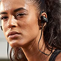 Wireless Sport Headphones Sweat-proof Earbuds – Lightweight IPX4 Waterproof Noise-Cancelling Headphones Neckband – Stereo In-Ear Earphones Headset with Mic & Hands-Free for Gym, Running, Workout