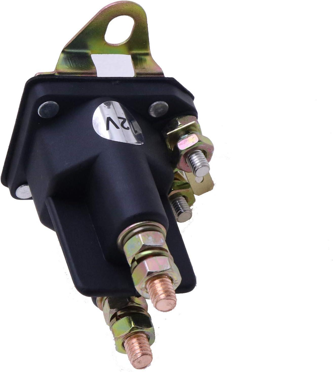 Friday Part 12V Starter Solenoid Relay Switch K3011-62250 for Kubota ZG123S ZG124E ZG127E ZG127S Zero Turn Mower