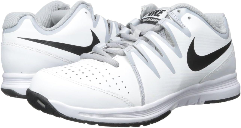 Amazon.com: Nike Men's Vapor Court White/Wolf Grey/Black 7.5 ...