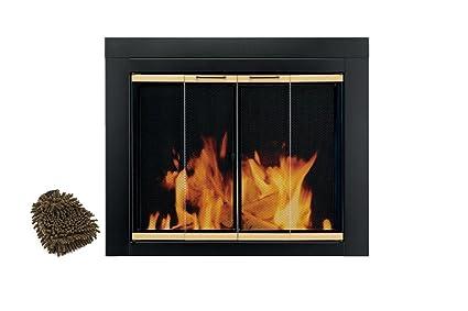 Amazon Pleasant Hearth Fireplace Glass Door Ar 1020 Arrington