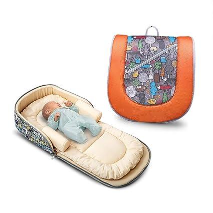 Nido recién nacido multifuncional Bebé suave Cunas para ...