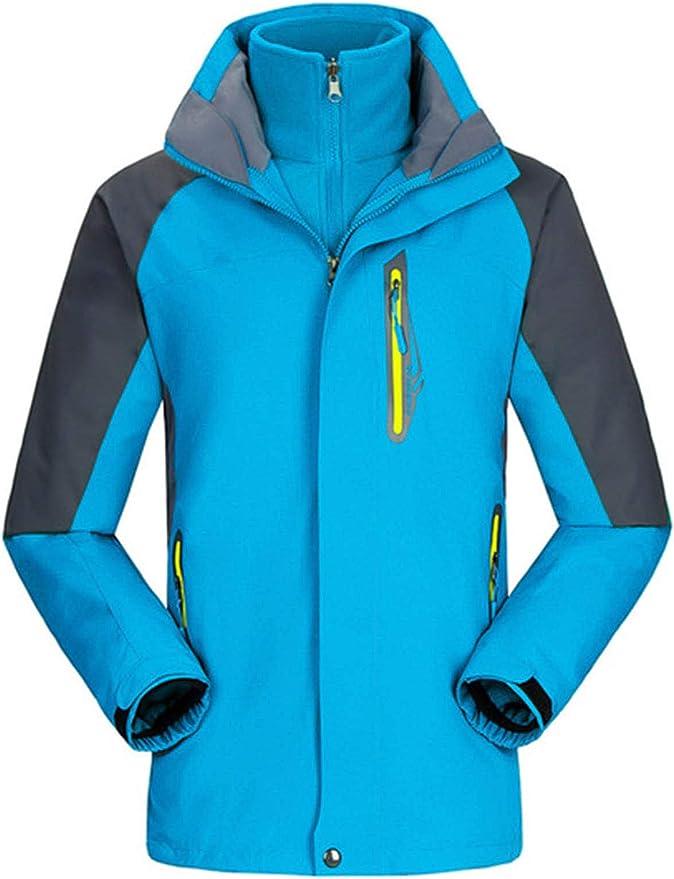 Chaqueta de esquí de montaña para mujer, informal, cálida, a ...