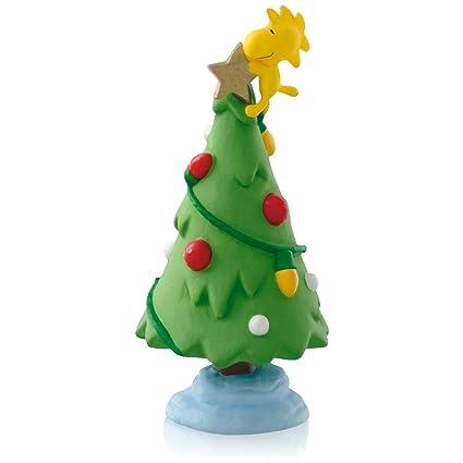 hallmark keepsake ornaments 2015 qrp5916 peanuts woodstock gold star christmas tree ornament