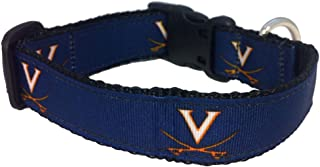 product image for NCAA Virginia Cavaliers Dog Collar (Team Color, Large)