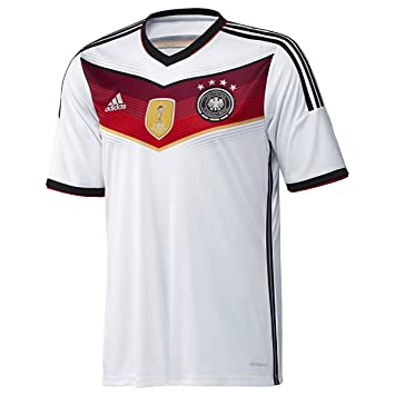 best cheap 62dd0 9783a adidas Germany 4 Star World Cup Champion Home Jersey (Small ...