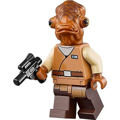 LEGO Star Wars Minifigure - Admiral Ackbar with Blaster: Juguetes y juegos