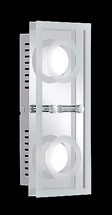 Lámpara de techo WOFI, LED-proyector del techo 7475,02,01 ...