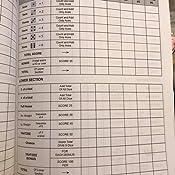 Yahtzee Score Record: Yahtzee Game Record Score Keeper