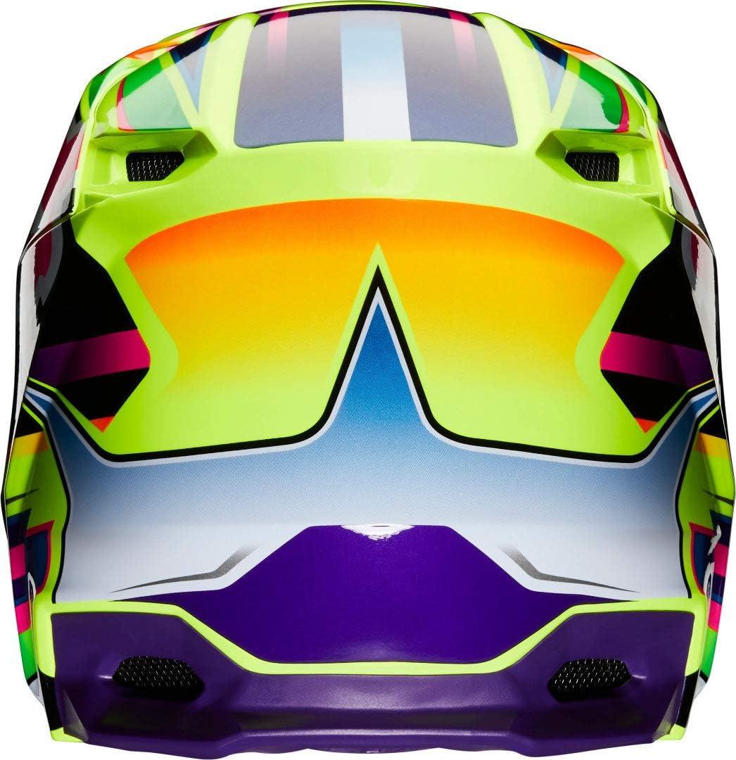 Fox Mens V1 Gama Helmets XL Yellow