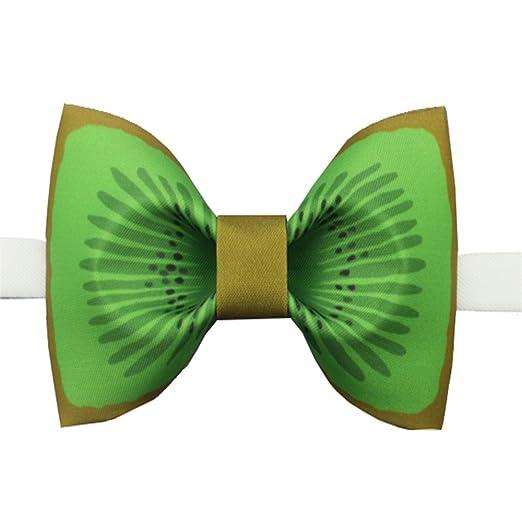 Easy Go Shopping Corbata de Lazo para Hombre Corbata de moño Kiwi ...