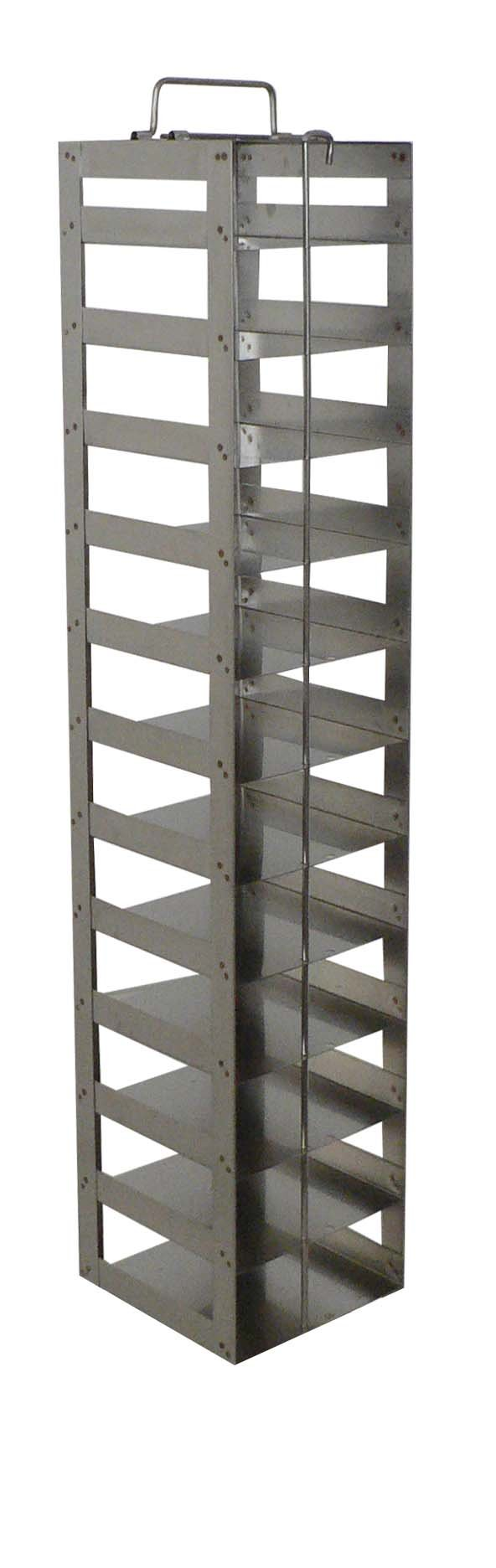 DURA RACK XPRESS CF-12-2 Stainless Steel Vertical Chest Freezer Rack for 2'' Boxes