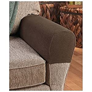Armrest Covers Stretchy 2 Piece Set Chair Or