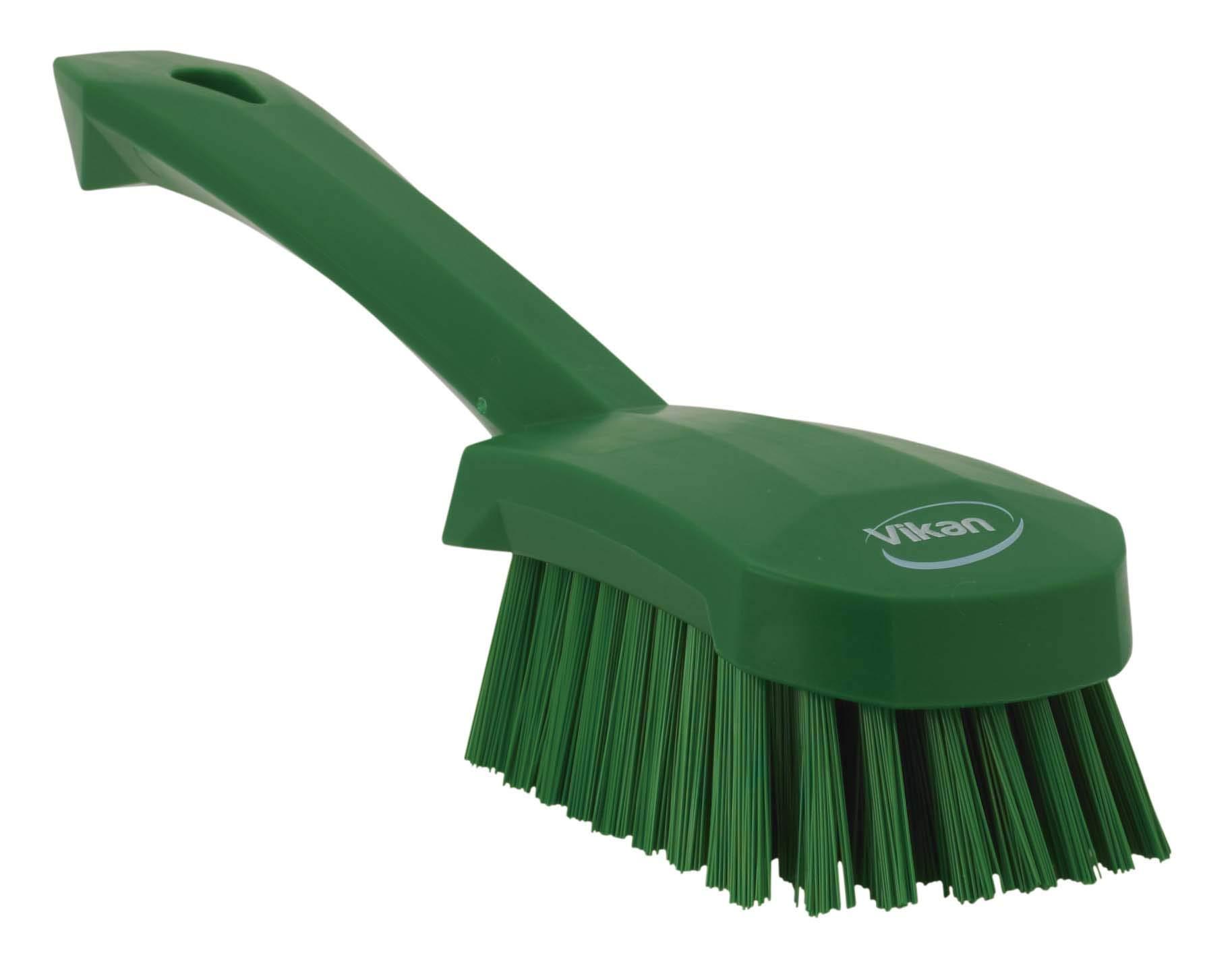 Short Handle Brush, 10''L, Stiff