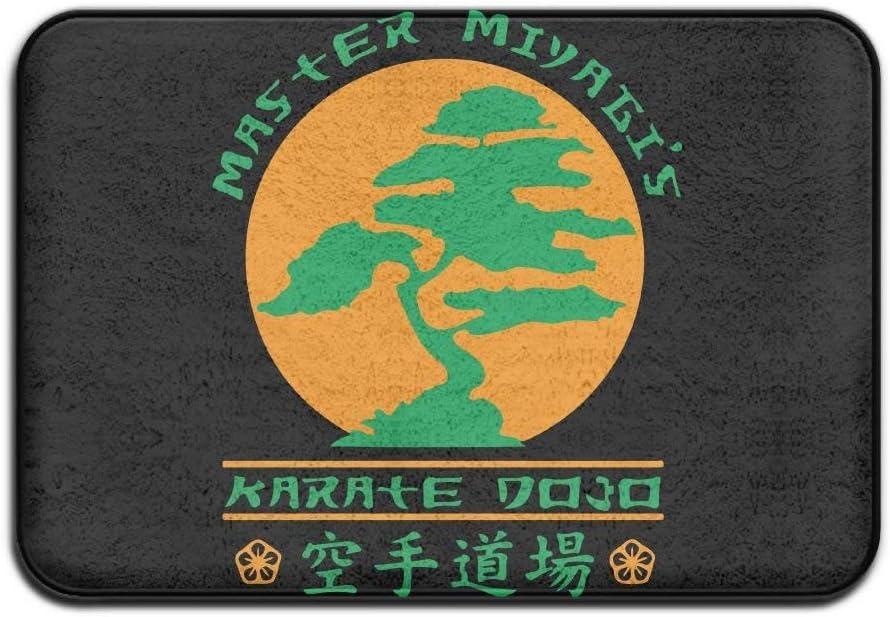 ZHIZIQIU Bonsai Karate Dojo Anti-skidding Welcome Rug Kitchen Rug