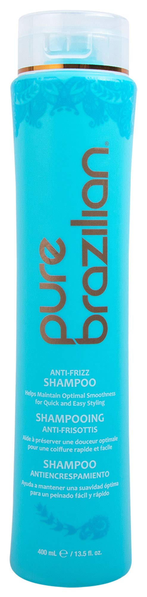 Pure Brazilian - Anti Frizz Daily Shampoo - Salt-Free, Color Safe, With