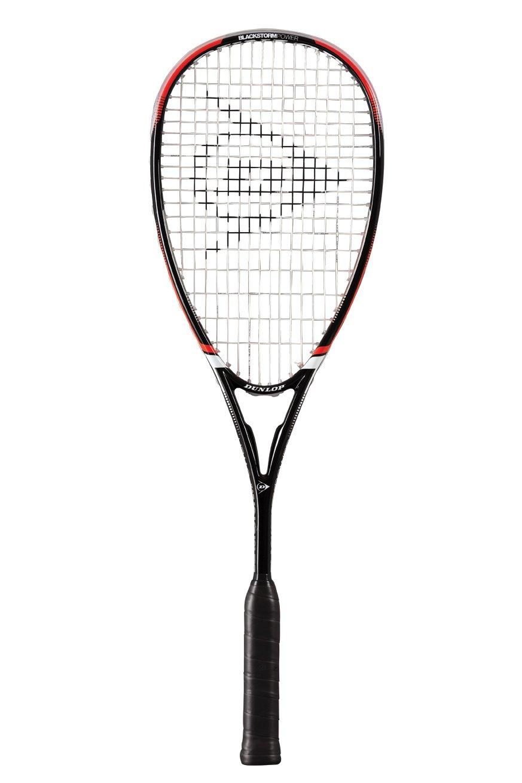 One size Dunlop Squashschl/äger Blackstorm Power Schwarz//Rot