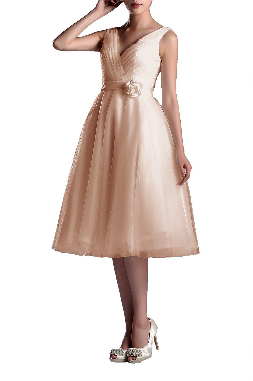 2644ac247aab Amazon Tea Length Formal Dresses