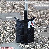 Heavy Duty Abccanopy Premium Instant Shelters Weight Bags - Set of 4 - 40lb Capacity Per Bag