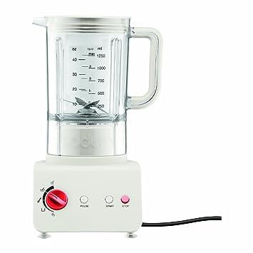 Bodum Bistro Batidora eléctrica de Vaso, 1,25 l, 500 W, Plástico, Blanco Crema: Amazon.es: Hogar