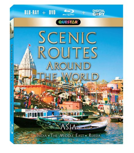 Scenic Routes Around the World: Asia [Blu-ray Combo Pack: Blu-ray, DVD & Digital Copy]